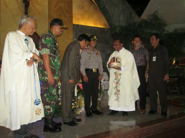 Muspida Kunjungi Gereja Kabargresik Com