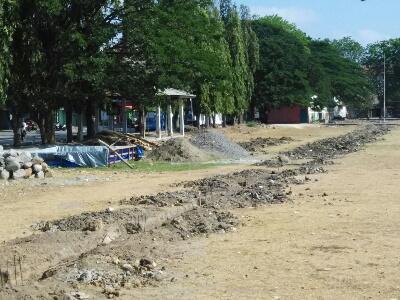 Akhirnya Stadion Bola Sidayu Batal Dibangun