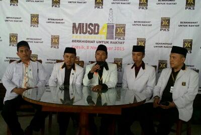 M Fahrizal Ketua Baru PKS Gresik