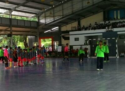 Isi Liburan SDM GKB Bikin Kejuaraan Futsal