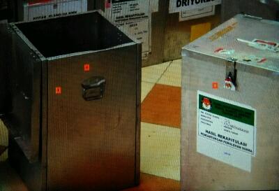Pembacaan Hasil Rekap Ditunda Karena Kotak Kosong