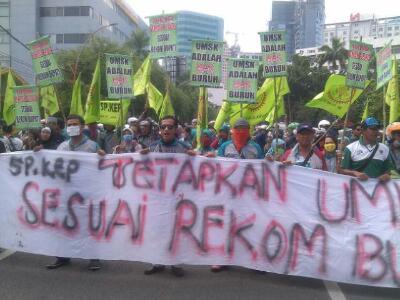 Dag Dig Dug Tunggu Penetapan UMSK Gresik 2016