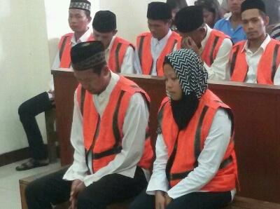 Suyatno Dan Istri Dihukum 6 Th Penjara