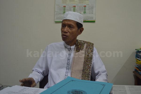 K.H. Mansoer Sodiq Ketua MUI Kabupaten Gresik (foto: Rudi/kabargresik.com)