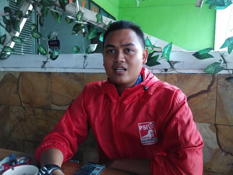 Muhammad Rizki (28) ketua DPD PSI Kab Gresik
